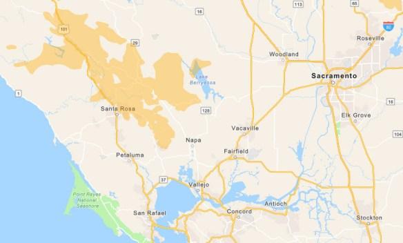 Mapa Interactivo: Áreas afectadas por el apagón de PG&E