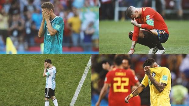 [World Cup 2018PUBLISHED] Fueron las mayores decepciones en la Copa Mundial