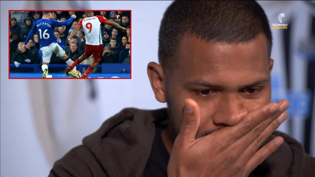 [Copa América] Salomón Rondón rompe en llanto tras recordar lesión a McCarthy