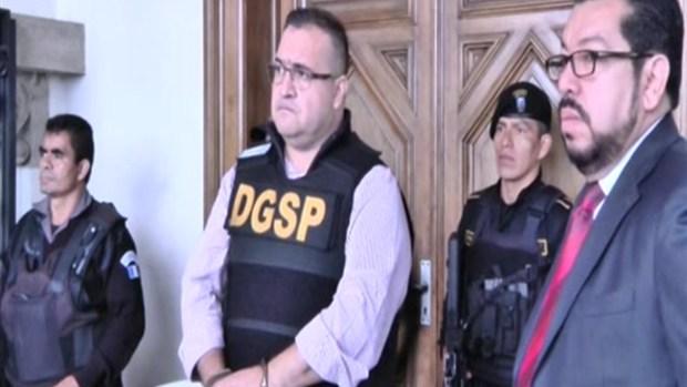 Guatemala extradita a Javier Duarte