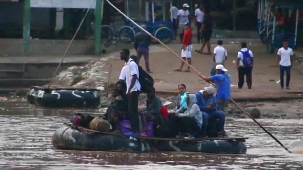 Más seguridad en frontera sur mexicana no frena éxodo migratorio