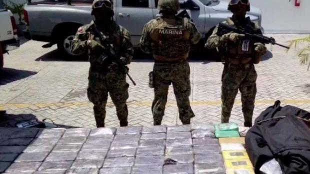[TLMD - McAllen] En Tamaulipas aseguran cocaína proveniente de Colombia