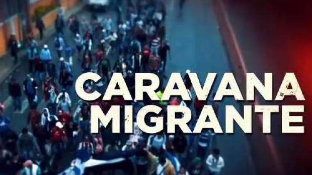 Caravana de migrantes avanza por Guatemala