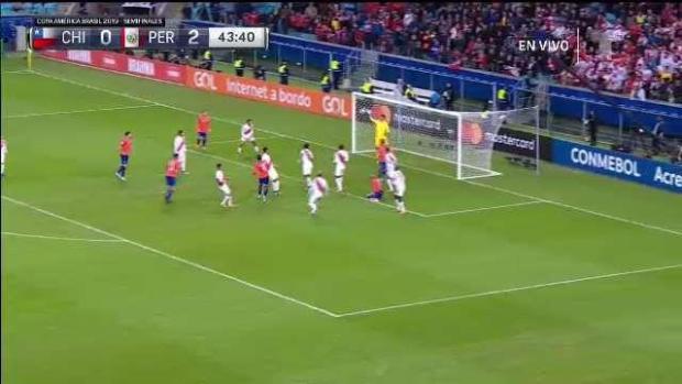 [TLMD - National - LV] Chile casi empata pero el arquero la saca in extremis