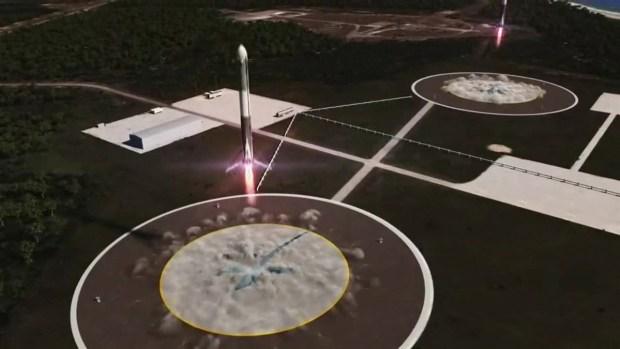 [TLMD - NATL] Con un auto a bordo lanzarán cohete más potente del mundo