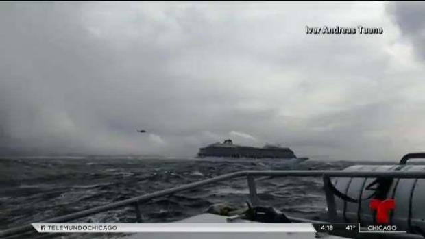 [TLMD - LV] Noruega: abren investigación sobre percance de crucero