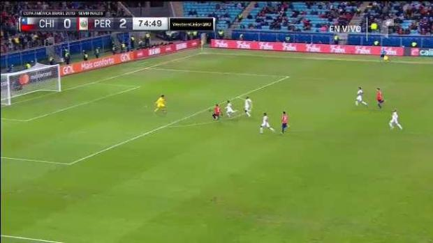 [TLMD National - LV] Edu Vargas estuvo a nada del gol