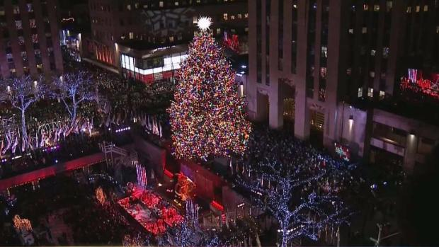 [TLMD - NY] Encendido del árbol navideño de Rockefeller Center