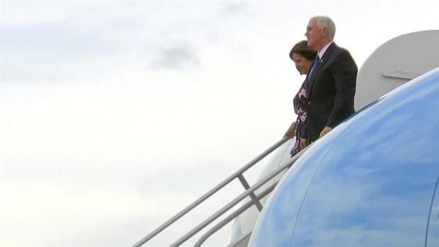 [TLMD - MIA] Vicepresidente Pence llega a Colombia
