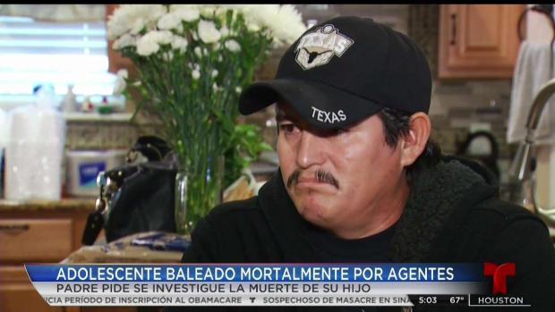 [TLMD - Houston] Habla padre de adolescente baleado de muerte por oficial