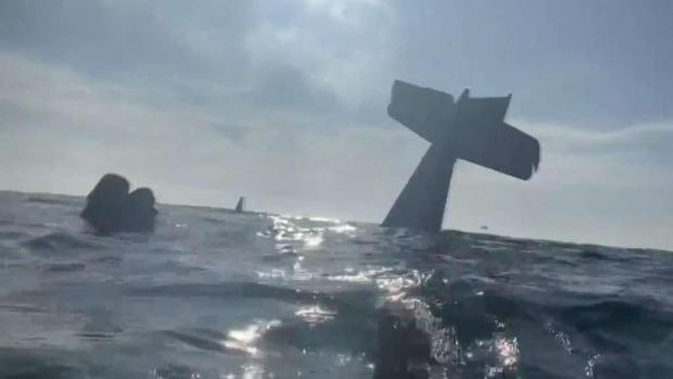[TLMD - Bahia] Hablan sobrevivientes de avioneta que cayó al mar