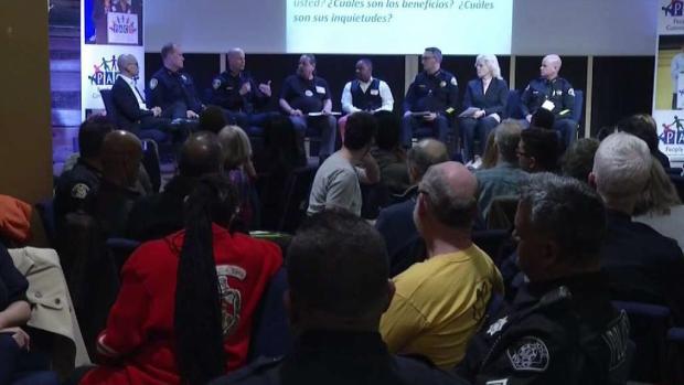 [TLMD - Bahia] Jefes de policía se reúnen con la comunidad de San José