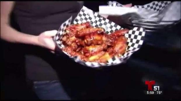 [TLMD - MIA] Las alitas de pollo en el Super Bowl