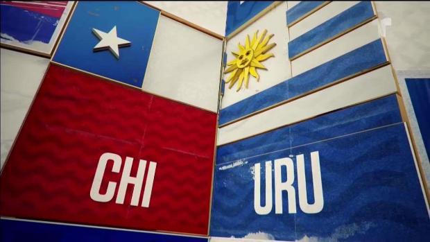 [TLMD - National- LV] Chile- Uruguay: lo mejor del primer tiempo