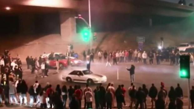 [TLMD - Bahia] Más oficiales para evitar espectáculos ilegales de auto en Oakland