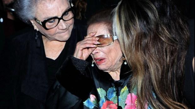 "La madre de Edith González está ""destrozada"""