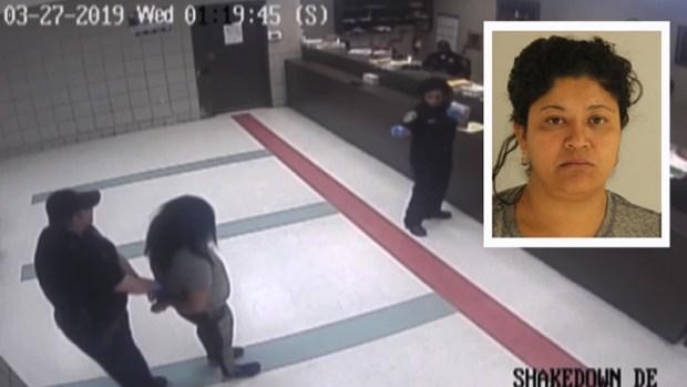 "[TLMD - Dallas] Video muestra a ""Lady Frijoles"" en cárcel de Dallas"