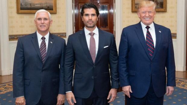 Eduardo Verástegui se reúne con Donald Trump