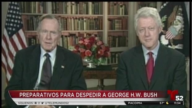 [TLMD - LA] Preparativos muerte George HW Bush