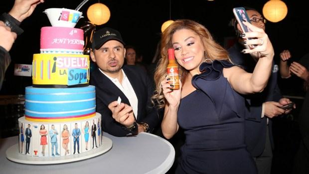 """Larry Hernández festeja el cuarto aniversario de """"Suelta la sopa"""""""
