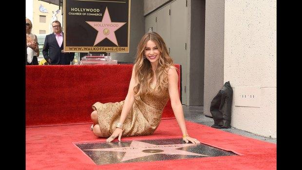 Fotos: ¡Sofía Vergara recibe su estrella en el Paseo de la Fama de Hollywood!
