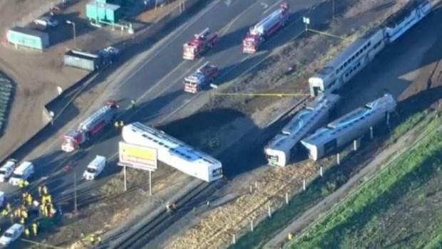 Gran número de accidente de trenes