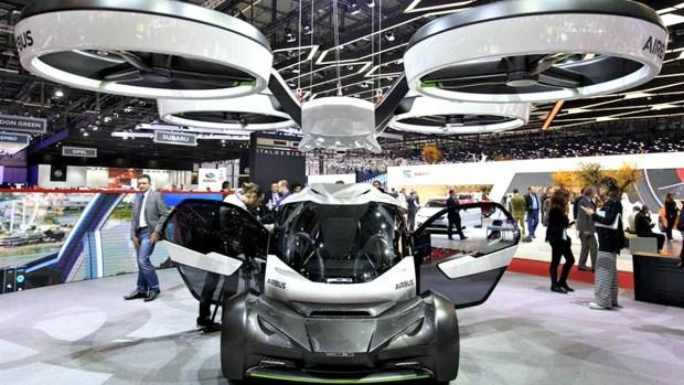 Así funciona el auto que vuela revelado por Airbus