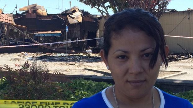 Fotos: fuego deja a decenas sin trabajo