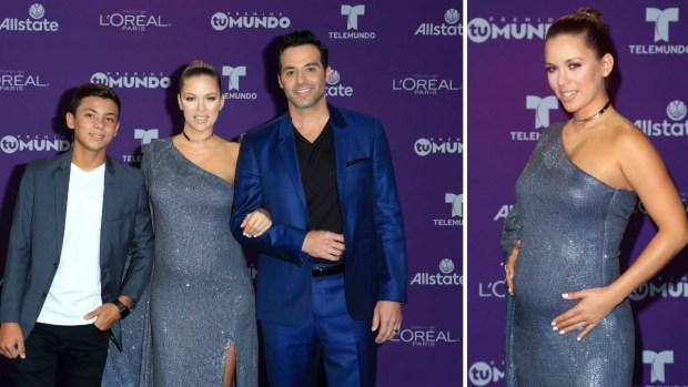 [EAST COAST ] Ximena Duque presume embarazo en alfombra de Premios tu Mundo