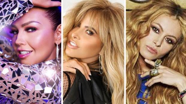 ¡Guerra de divas mexicanas! Se enfrentan Thalía, Gloria Trevi y Paulina Rubio