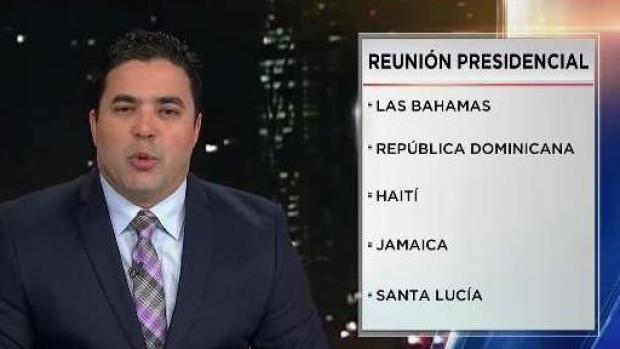 [TLMD - LV] Trump viaja a Florida para ver a líderes del Caribe