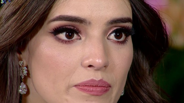 Miss Mundo, Vanessa Ponce de León, estalla en llanto