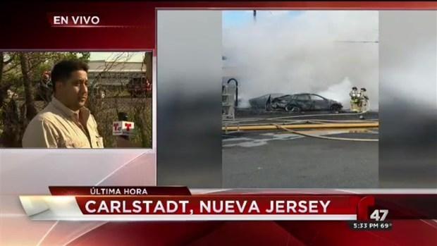 Dos muertos tras caer avión en Nueva Jersey