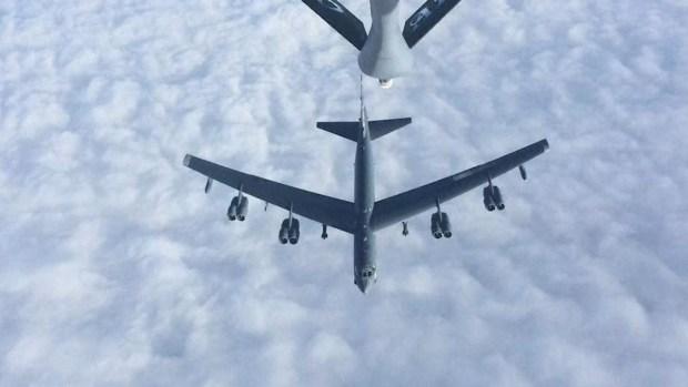Llegan los temibles B-52 al Golfo Pérsico