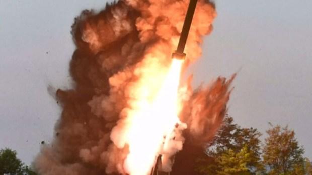 Cómo fue el lanzamiento de misiles de Kim Jong-un