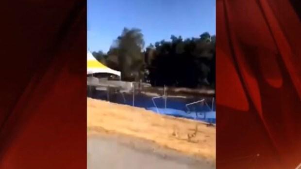 Así se escucharon los disparos en tiroteo masivo en California