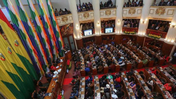 Evo Morales celebra 13 años en el poder
