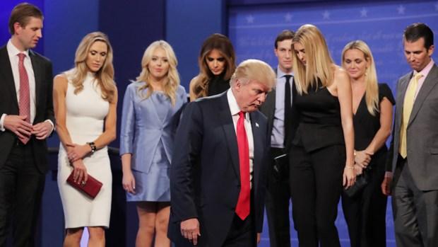 Quién es quién en la familia de Donald Trump