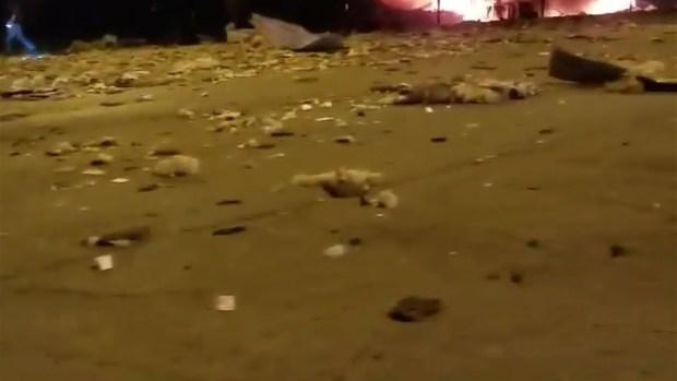 [TLMD - NATL] En video: así queda empresa de Waukegan tras explosión