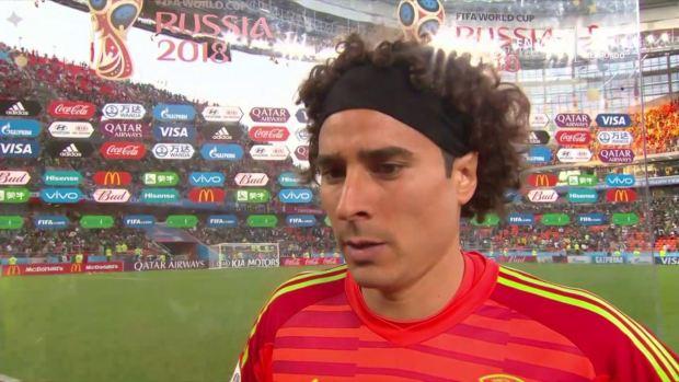"""[World Cup 2018 PUBLISHED] Guillermo Ochoa: """"No era el resultado que teníamos pensado para hoy"""""""