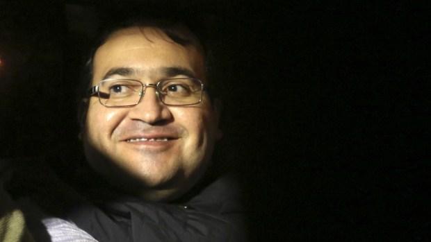 ¿De qué ríe el exgobernador mexicano capturado?
