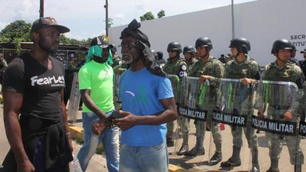 México: migrantes africanos ponen en jaque a autoridades