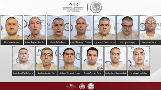 Fotos: Los 13 extraditados de México a EEUU