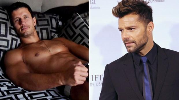 """""""El piloto más sexy del mundo"""" que llamó la atención de Ricky Martin"""