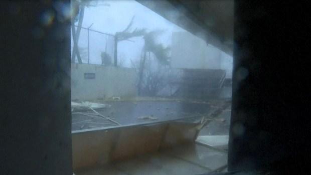 [TLMD - MIA] Viento ensordecedor: Puerto Rico siente la potencia de María