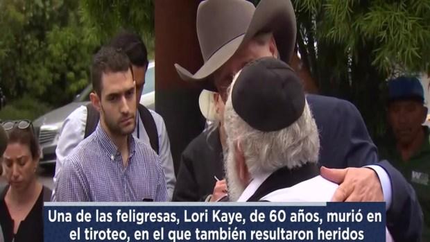 [TLMD - LV] Rabino cuenta detalles de tiroteo en sinagoga