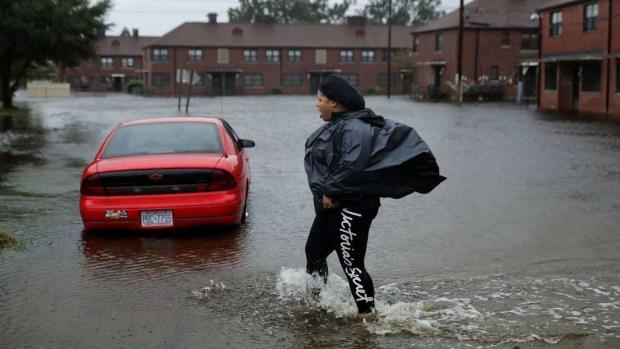 Huracán Florence: imágenes de inundaciones desde las Carolinas