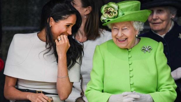 Amigas inseparables: lo que hizo Meghan en su viaje con la reina