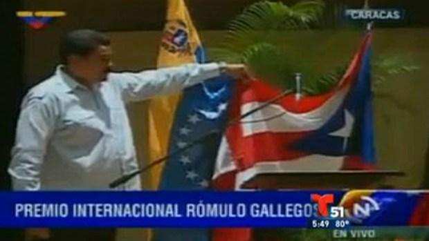 Video: Metida de pata de Maduro