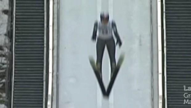 Video: Aparatosa caída de campeón olímpico